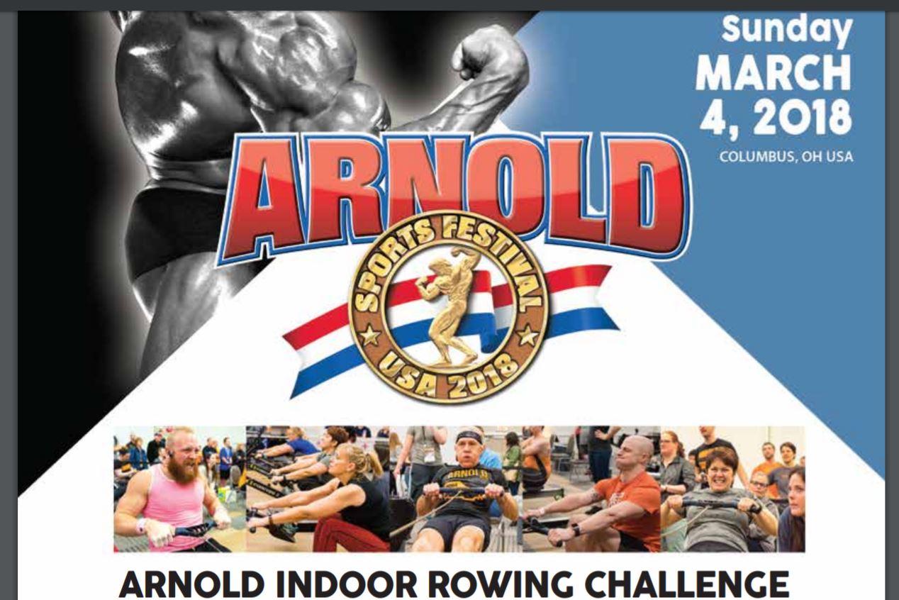 The Arnold Indoor Rowing Challenge Overview