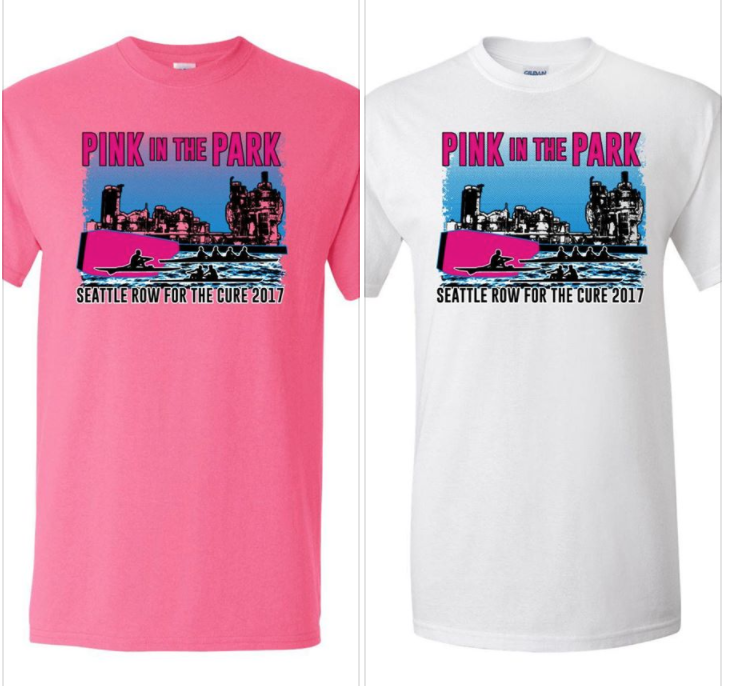 Donate or Fundraise $150, the cost of ONE mammogram, and get a FREE RFTC T-Shirt!